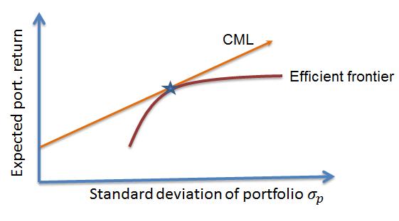 cfa-Capital Market Line